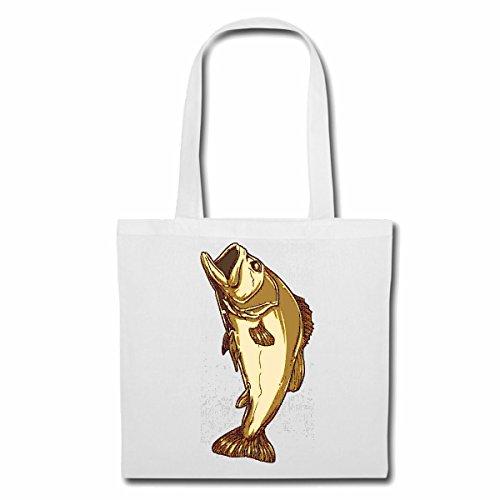 Tasche Umhängetasche Forelle Karpfen Angler...