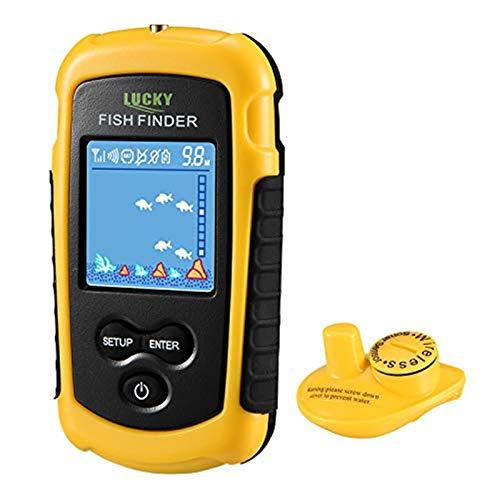 LUCKY Fischfinder Wireless Farbe Tragbarer...