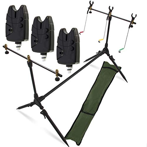 G8DS® Set Rod Pod Rutenhalter + Tragetasche...