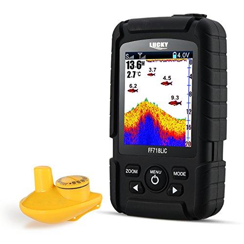 LUCKY Fishfinder Wireless Tragbarer...